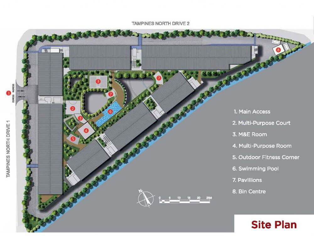 T-space At Tampines New Launch Industrial Site Plan