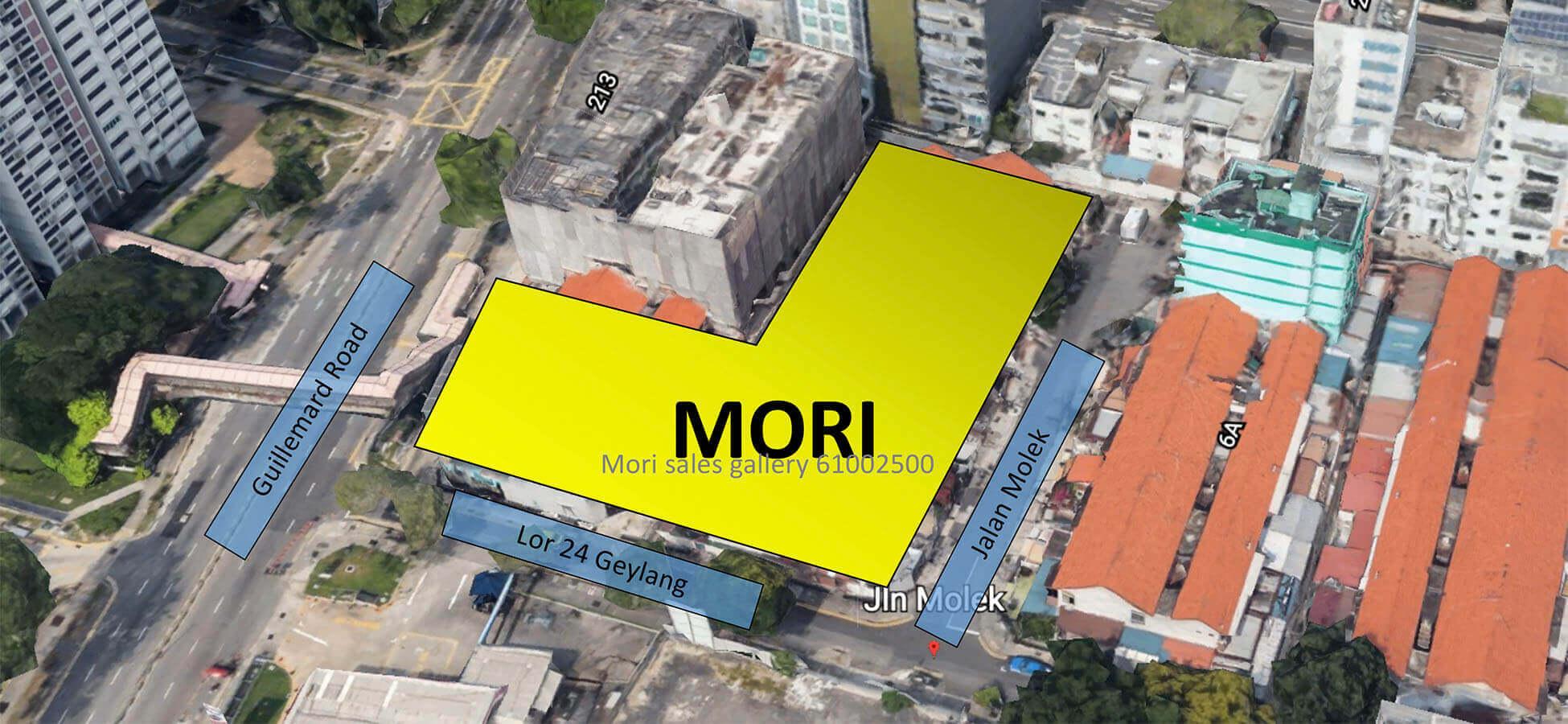Mori New Condo Actual Site
